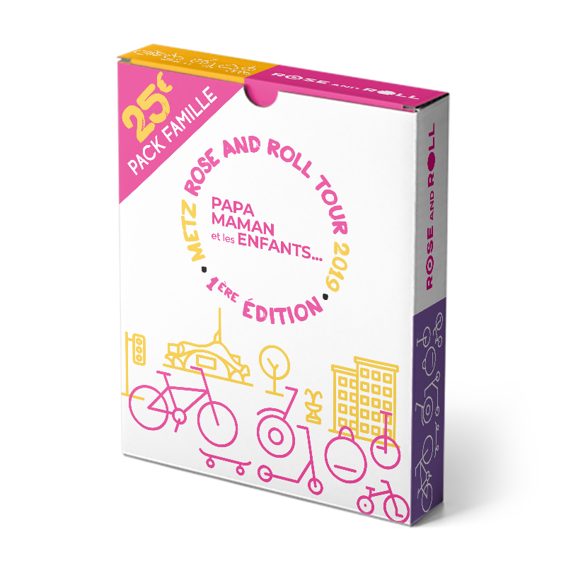 Pack Famille – Rose and Roll 2019